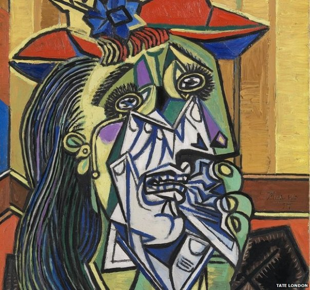 Pablo Picasso, Weeping Woman,1937