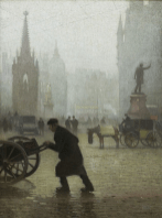 Adolphe Valette: Albert Square, Manchester, 1910 © Manchester City Galleries