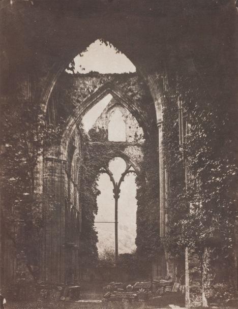 John Wheeley Gough Gutch Abbey Ruins, circa 1858 © Wilson Centre for Photography