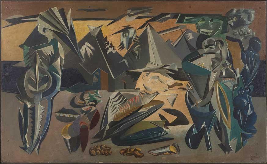 Distressed Area (1938), Merlyn Evans © Estate of Merlyn Evans