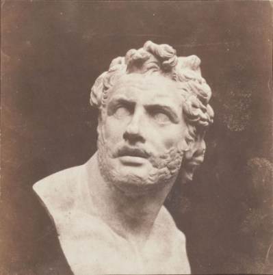William Henry Fox Talbot, Plaster Bust of Patroclus, before February 1846 © Wilson Centre for Photography