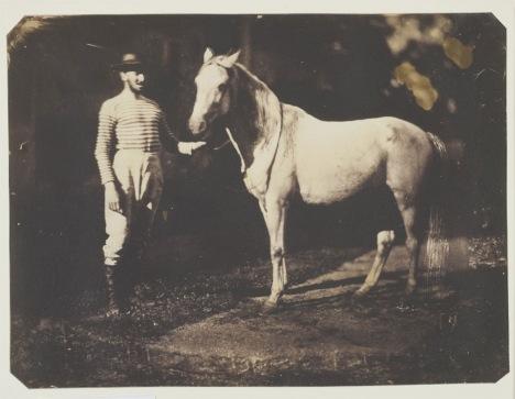 Jean-Baptiste Frénet, Horse and Groom, 1855 © Wilson Centre for Photography
