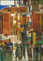 Wyndham Lewis, The Surrender of Barcelona, 1347 © Tate, London 2014 © The Estate of Mrs G. A. Wyndham Lewis