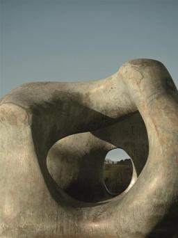 Large Two Forms (detail), 1966–69
