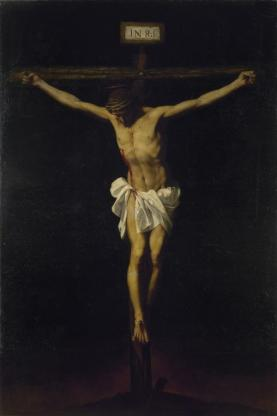Alonso Cano, 1601, Granada – 1667, Granada: The Crucifixion. Oil on canvas, 265 x 173 cm. The State Hermitage Museum, St Petersburg