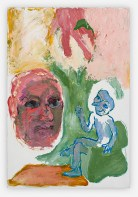 Sequence No.37, Talking with a Psychoanalyst: the hand, c.1990, acrylic on board 55 x 37 cm