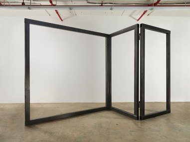 Open Screen, 2014, steel, 3 Panels