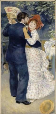 Pierre-Auguste Renoir, Dance in the Country, 1883, Oil on canvas (Picture: RMN-Grand Palais (musée d'Orsay) / Hervé Lewandowski)