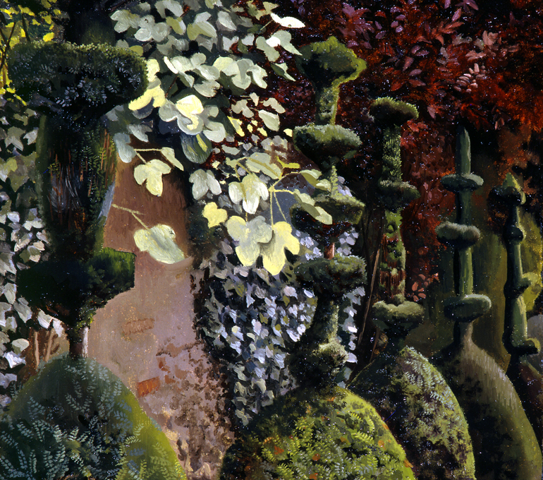 Clipping Yews, 1935. Aberdeen Art Gallery & Museums Collections