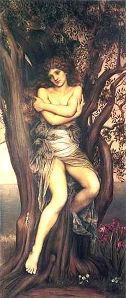 The Dryad, 1884, 1286 x 674 mm