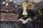 Manet's sketch for his 1882 work A Bar at the Folies-Bergère