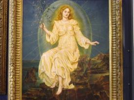 "Lux in Tenebris, 1895, 49.5"" x 29.5"""