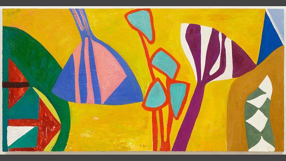 Dawn-bright Lawn, 2013, oil on canvas