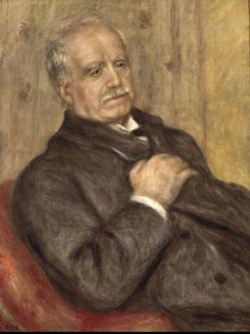 Pierre-Auguste Renoir: Paul Durand-Ruel in 1910 (Archives Durand-Ruel)