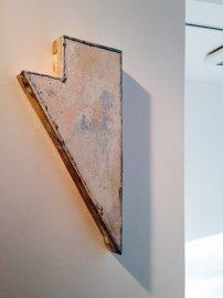 Finbar Ward: Rising Triangle, 2014. Photo: Beccy Kennedy