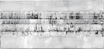 Schlitz-Reliefe (1960), Heinz Mack. Photo: Axel Schmidt