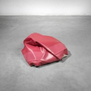 Angela de la Cruz: Mini Nothing 9 (Pink), 2010. © the artist & Lisson Gallery. Photo Ken Adlard