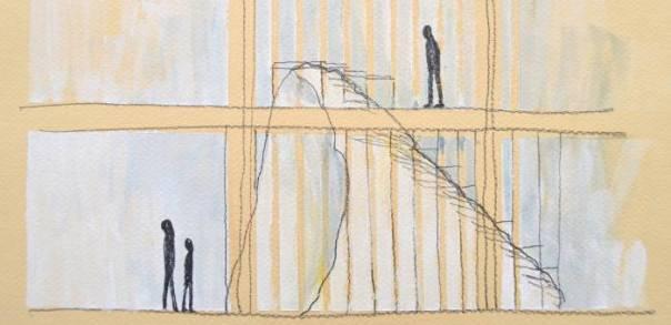 Sketch of 'Supra Terram' (detail