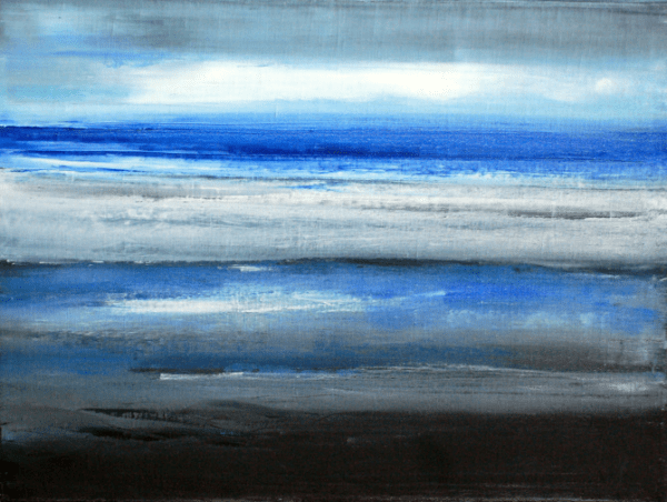 Seán McSweeney, Ebb Tide, 12.05, 2012, oil on canvas, 60 x 80 cm