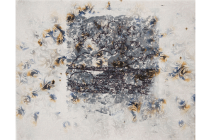 Untitled No.3, 2015, mixed media on canvas, 24 x 30 cm