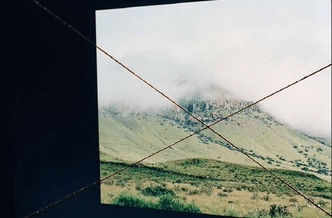 Etienne Chambaud, Flat Source Negative (2015), Photograph from Acryl scratched negative, buried box, certificate.