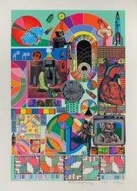 Eduardo Paolozzi, B.A.S.H., 1971, screenprint. Private Collection.