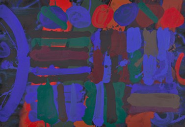Endymion, 1991, acrylic on canvas, 33 x 48 in / 83.8 x 121.9 cm