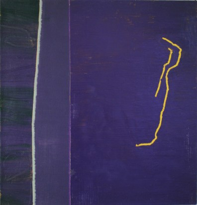 Scoria, oil and wax on canvas, 59x61.5 cm, 2014