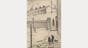Lawrence Stephen Lowry: Street in Ramsbottom, 1954