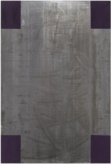 Untitled, 1986. Acrylic on lead laid down on panel, 70 78 x 47 14 in. (180 x 120 cm)