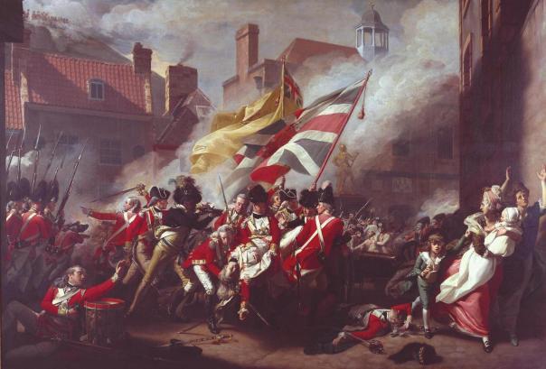 John Singleton Copley: The Death of Major Peirson, 6 January 1781. 1783