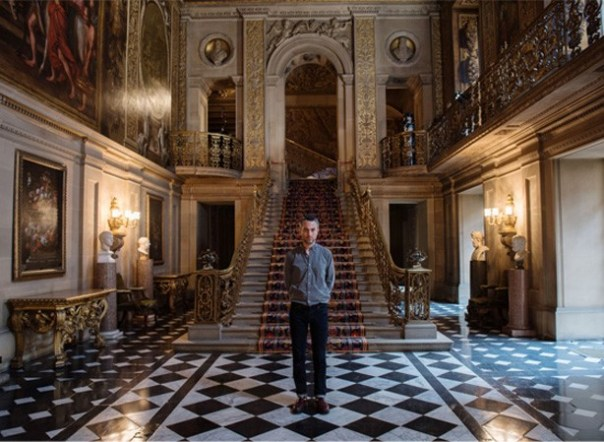 Pablo Bronstein at Chatsworth House. Photo: Hugo Glendinning