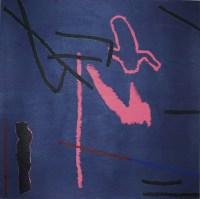 Sideup, acrylic on paper, 13x13cm, 2014