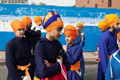 Vaisakhi, Guru Nanak Gurdwara, Smethwick