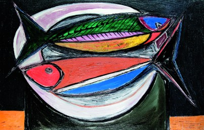 Two Fishes, 1948