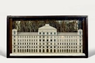 Palace, 1943. Box construction. 26.7 x 50.5 x 13 cm. Photo: Hickey-Robertson.