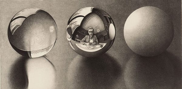 Three Spheres II, 1946