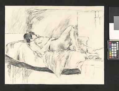 Nude Female, Lying, 1964