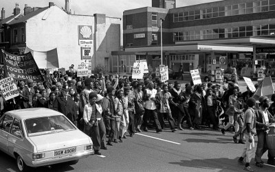 Africa Liberation Day march through Handsworth, 1977