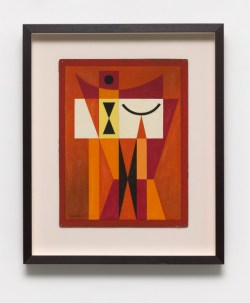 Mario Carreño: Crepúsculo (Twilight), 1955.Tempera, pencil and ink on casein on board,15 x 11 1/2 inches (38 x 29 cm)