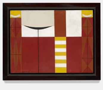 Mario Carreño: Sin Título, Composición Abstracta (Untitled, Abstract Composition), 1953. Oil on canvas, 23 7/8 x 31 3/8 x 1 1/8 inches (60.7 x 79.7 x 2.8 cm)