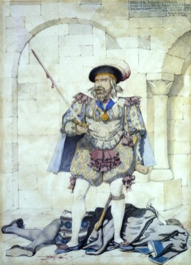 Hatred (from The Passions), 1853. Watercolour