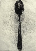 The Spoon, 1975, aquatint, 18 x 13 cm