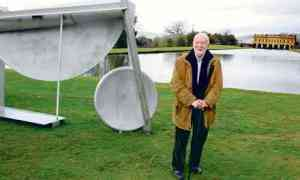 """The Guardian, 16 March 2012: """"Anthony Caro: a life in sculpture."""" Photograph: Eamonn McCabe."""