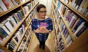 """The Observer, March 2016: """"Jackie Kay: Scotland's poet of the people."""" Photograph: Andrew Milligan/PA."""