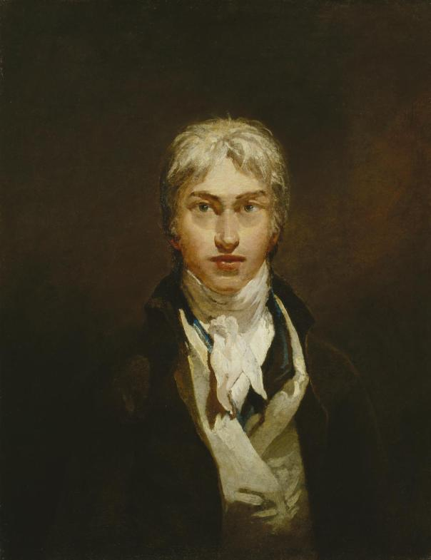 Tate Britain: Self-Portrait c.1799, Joseph Mallord William Turner, 1775-1851. Accepted by the nation as part of the Turner Bequest, 1856.