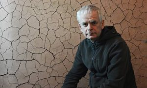 Guardian, 17 August 2014: Andy Goldsworthy: 'Lying down in Times Square in the rain is bound to attract attention'