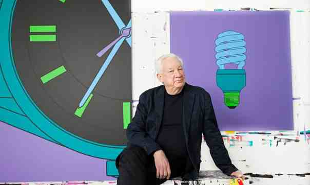 """Observer, interview, 2015: """"The painter and YBA guru on Damien Hirst and co, being savaged by Brian Sewell and his triumphant 'late period'."""" Photo: Karen Robinson."""