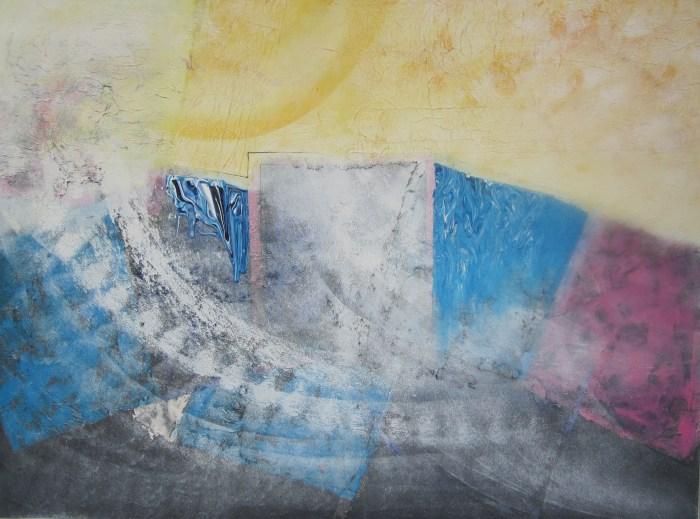 With Lucia Gouvêa Pimentel │ AMAYELLOW │ 2004 │ Acrylics on canvas │ 75 x 101 cm