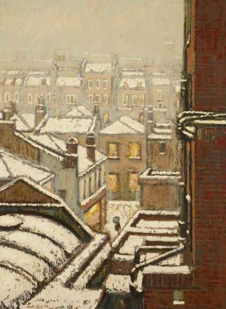Houses and Roofs in the Snow, Martin William Turner (1940–2006), 1982